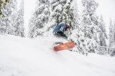 uprawiając snowboard